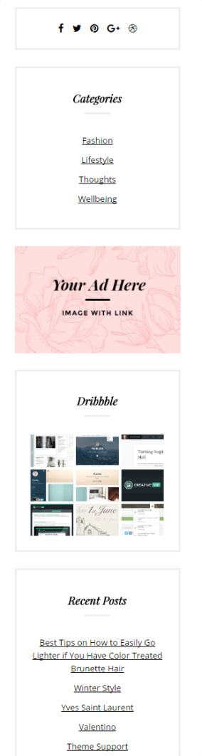 fashion chic review   blog theme by theme junkie read truth