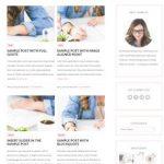 Isabelle WordPress Theme Screenshot - Bluchic Feminine blog shop theme