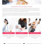 Jacqueline Bluchic - Feminine Business Blog WordPress Theme for Women