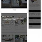 Lynette Bluchic Word{ress Blog Theme - Homepage screenshot