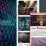 Sideways Organic Themes - WordPress Blog theme with Split Screen Layout
