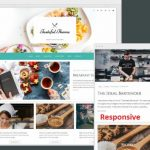 Tasteful Organic Themes - Responsive Food Recipe WordPress Theme for Bloggers
