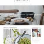 Epicurean Demo - ThemeShift Food Recipe Blog WordPress Theme