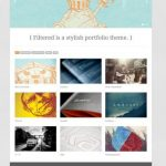 Filtered Portfolio WordPress Theme - Theme Trust
