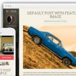 Voice Demo - Responsive Blogging Theme from Thrive Themes