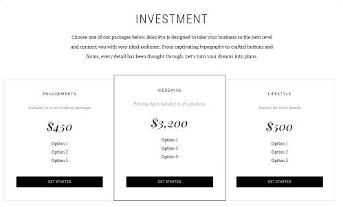 Investment Page - Boss Pro