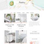 Paisley Feminine WordPress Theme - Bluchic