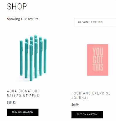 Shop Page - Boss Pro