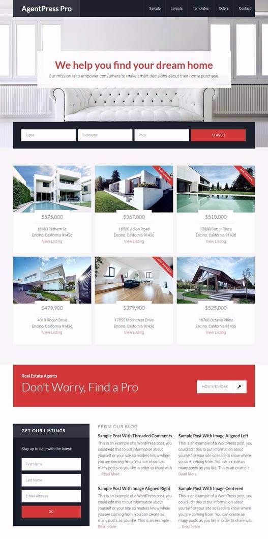 AgentPress Pro Review - Genesis Real Estate Theme by SttudioPress