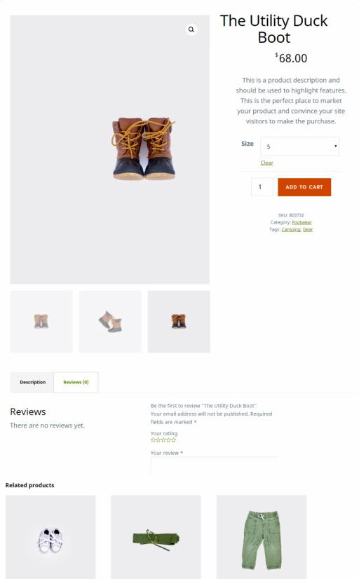 Product Post - Outfitter Pro eCommerce Theme