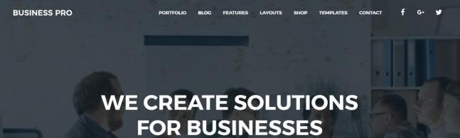 Header - Business Pro