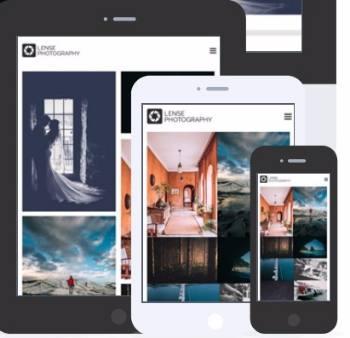 Lense - Responsive Photo Gallery Theme