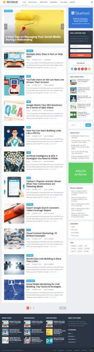 Standard HappyThemes - Magazine and Blog WordPress Theme