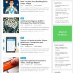 Revenue HappyThemes - WordPress Blogging Theme