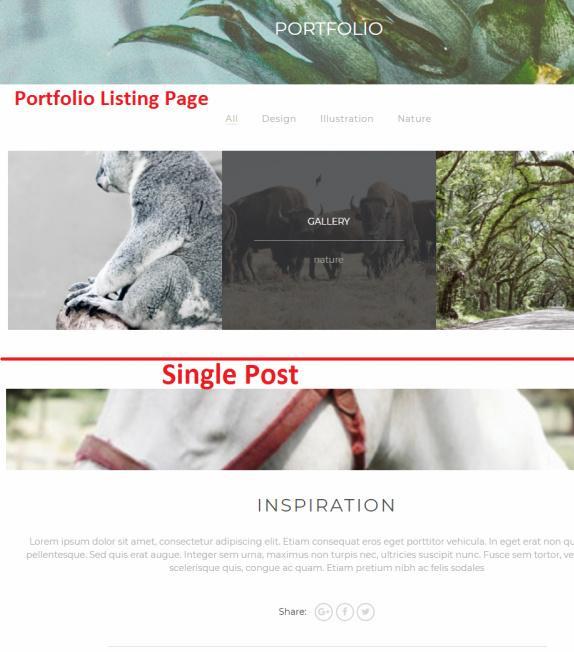 Portfolio Listing Page - Montblanc TeslaThemes