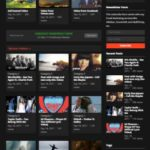 VideoHost Video WordPress Blog Theme - HappyThemes