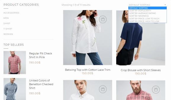eCommerce Shop Page - Montblanc Tesla Themes