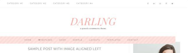 Header Menus - Darling Theme