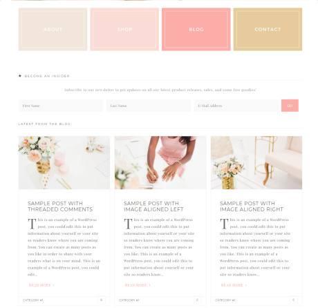 Homepage Widgets - Darling Restored 316