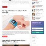 Improve Pro HappyThemes - Premium WordPress Blogging Theme