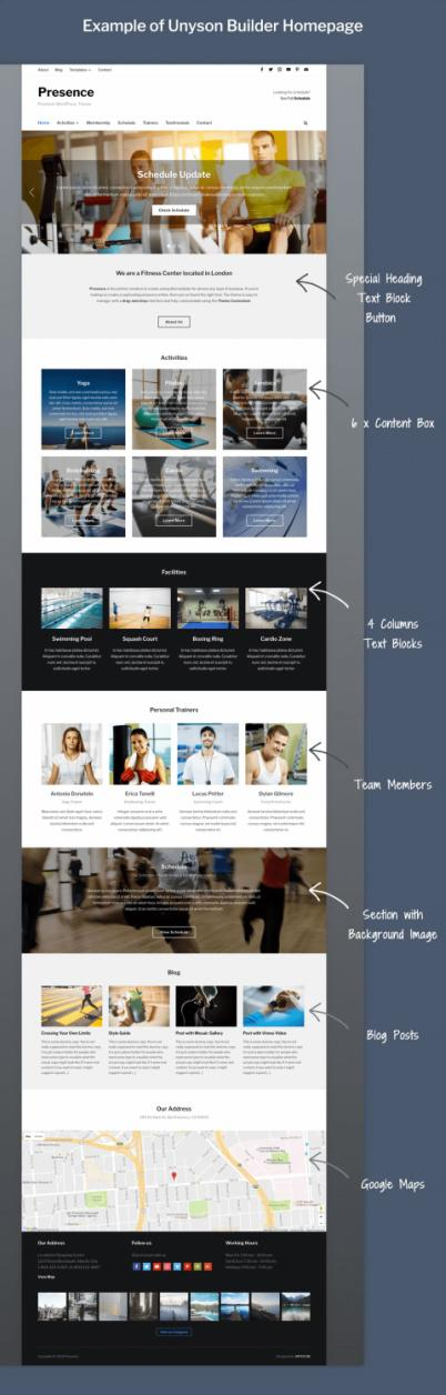 Presence WPZOOM - Multipurpose WordPress Theme