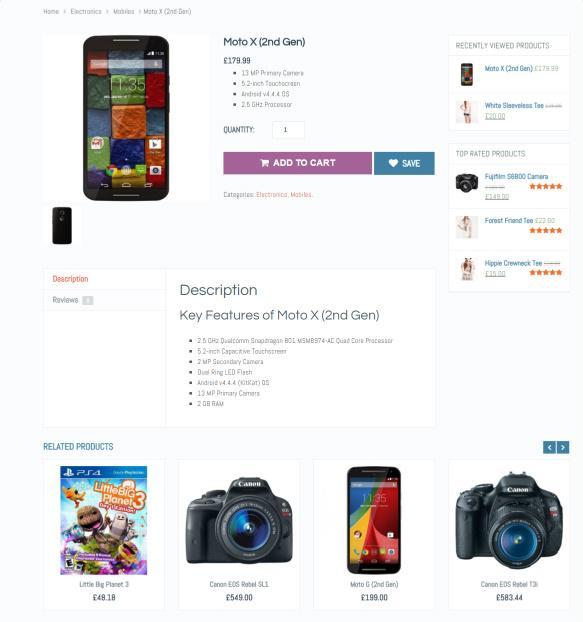 Product Page - eCommerce Mythemeshop
