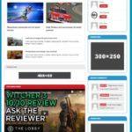 MH Joystick - WordPress Gaming Theme