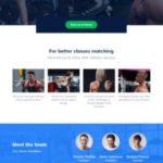 Fitness Demo - WordPress Theme For Gyms by MyThemeShop